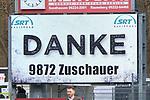 Die Zuschauerzahl 9872  beim Spiel in der 2. Bundesliga, SV Sandhausen - FC St. Pauli.<br /> <br /> Foto © PIX-Sportfotos *** Foto ist honorarpflichtig! *** Auf Anfrage in hoeherer Qualitaet/Aufloesung. Belegexemplar erbeten. Veroeffentlichung ausschliesslich fuer journalistisch-publizistische Zwecke. For editorial use only. For editorial use only. DFL regulations prohibit any use of photographs as image sequences and/or quasi-video.