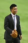 Norichika Aoki, <br /> NOVEMBER 14, 2014 - Baseball : <br /> 2014 All Star Series Game 2 <br /> between Japan and MLB All Stars <br /> at Tokyo Dome in Tokyo, Japan. <br /> (Photo by YUTAKA/AFLO SPORT)[1040]