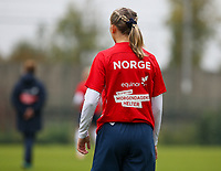 20191101 - Tubize: illustration picture shows a Norwegian theme TShirt pictured during the international friendly match between Red Flames U16 (Belgium) and Norway U16 on 1 November 2019 at Belgian Football Centre, Tubize. PHOTO:  SPORTPIX.BE   SEVIL OKTEM