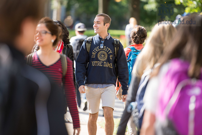 Oct. 8, 2014; MSM candids (Photo by Matt Cashore/University of Notre Dame)