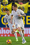Toni Kroos of Real Madrid in action during their La Liga match between Villarreal CF and Real Madrid at the Estadio de la Cerámica on 26 February 2017 in Villarreal, Spain. Photo by Maria Jose Segovia Carmona / Power Sport Images
