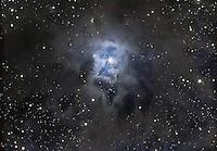 iris nebula, ngc7023, nebula