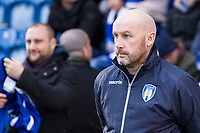 John McGreal, Manager of Colchester United during Colchester United vs Cheltenham Town, Sky Bet EFL League 2 Football at the Weston Homes Community Stadium on 6th January 2018