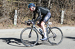 Chris Froome (GBR) Team Sky descends during Stage 4 of the Volta Ciclista a Catalunya 2019 running 150.3km from Llanars (Vall De Camprodon) to La Molina (Alp), Spain. 28th March 2019.<br /> Picture: Colin Flockton | Cyclefile<br /> <br /> <br /> All photos usage must carry mandatory copyright credit (© Cyclefile | Colin Flockton)