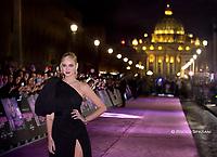 """ROME, ITALY - NOVEMBER 19: Chiara Ferragni attends the premiere of the movie """"Chiara Ferragni - Unposted"""" at the Auditorium della Conciliazione on November 19, 2019 in Rome, Italy."""