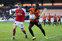 Ashley Hunter of Fleetwood Town and Josh Walker of Barnet during Barnet vs Fleetwood Town, Emirates FA Cup Football at the Hive Stadium on 10th November 2019