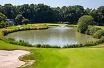 GROESBEEK  - hole Oost 1 met op de achtergrond de green van Noord 9.  ,  Golf op Rijk van Nijmegen.   COPYRIGHT KOEN SUYK