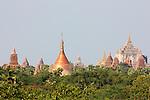 Temples, Bagan, Burma