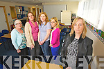 Workers at Kerry County Childcare pictured on Wedneday, From Left: Catherine Callaghan, Quality Officer, Pamela Curran, Administrator, Denise Quinlan, Childminder Advisory Officer, Catherine O'Donnell, Support and Development Officer and Oonagh Fleming, Manager.