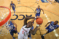 Virginia scored a win over Hampton 74-48 December 23, 2008. Photo/Andrew Shurtleff.