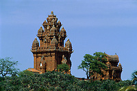 Po Klaung Garai Cham-Türme bei Phan Rang, Vietnam, 13.Jh.