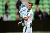 GRONINGEN - Voetbal, FC Groningen - VVV Venlo,  Eredivisie , Noordlease stadion, seizoen 2017-2018, 10-09-2017,   FC Groningen speler Ruben Ettergard Jenssen