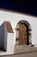 Spanien, Kanarische Inseln, Gomera, Kirche Virgen de la Candelaria in Chipude