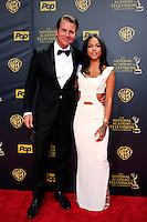 BURBANK - APR 26: Vincent De Paul, Karrueche Tran at the 42nd Daytime Emmy Awards Gala at Warner Bros. Studio on April 26, 2015 in Burbank, California