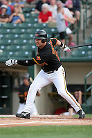 Rochester Red Wings Erubiel Durazo during an International League game at Frontier Field on July 25, 2006 in Rochester, New York.  (Mike Janes/Four Seam Images)