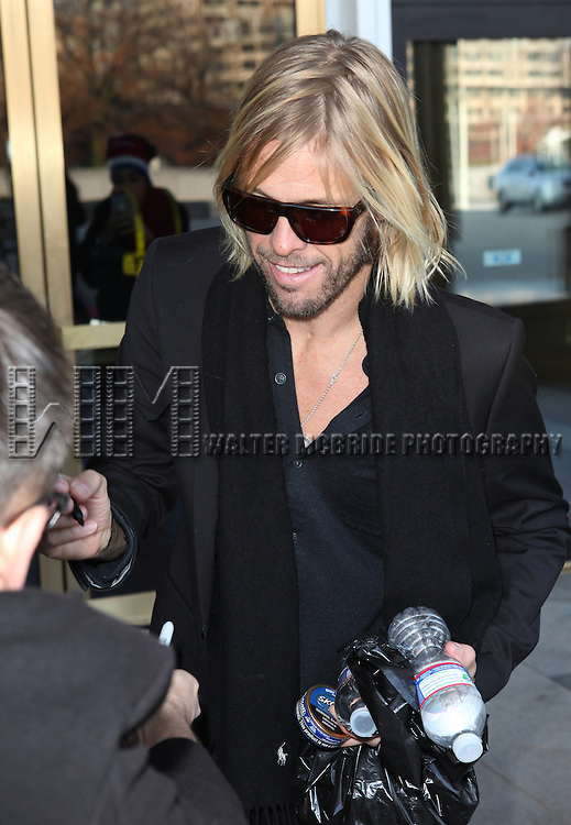 Taylor Hawkins (Foo Fighters)  attending the Rehearsals for the 35th Kennedy Center Honors at Kennedy Center in Washington, D.C. on December 2, 2012