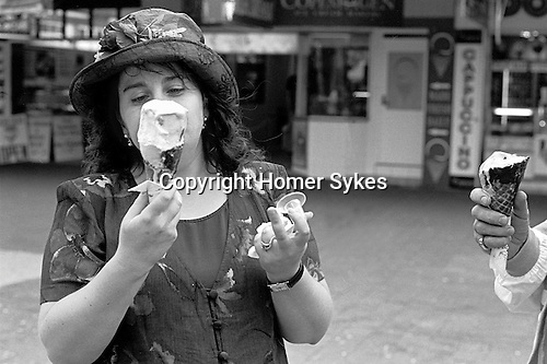 Ice cream eating Sydney Australia.