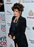 BEVERLY HILLS, CA. October 26, 2018: Dame Joan Collins at the 2018 British Academy Britannia Awards at the Beverly Hilton Hotel.<br /> Picture: Paul Smith/Featureflash