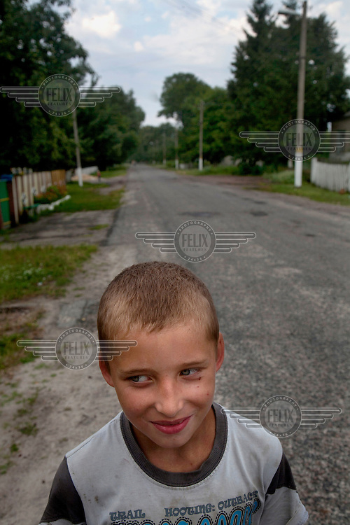 children living in the rural area that was affected by the Chernobyl disaster. Here the regimes heavy presence seems very far away.24/6/13- 5/7/13. Copyright Photo Tom Pilston24/6/13- 5/7/13. Copyright Photo Tom Pilston