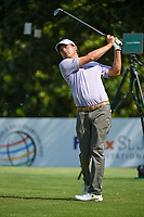 Kevin Kisner (USA) watches his tee shot on 8 during round 3 of the WGC FedEx St. Jude Invitational, TPC Southwind, Memphis, Tennessee, USA. 7/27/2019.<br /> Picture Ken Murray / Golffile.ie<br /> <br /> All photo usage must carry mandatory copyright credit (© Golffile | Ken Murray)