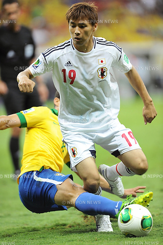 Takashi Inui (JPN),<br /> JUNE 15, 2013 - Football / Soccer :<br /> FIFA Confederations Cup Brazil 2013 Group A match between Brazil 3-0 Japan at Estadio Nacional in Brasilia, Brazil. (Photo by Takahisa Hirano/AFLO)