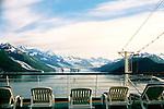 Leaving College Fjord, Alaska ,Just Relaxing As We Sail Away.