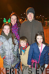 Pictured at the Aquadome fireworks on New Year's Eve were l-r: Ella Curtin, Aisling Curtin, David Cutin, Mike Curtin and Anna Curtin.