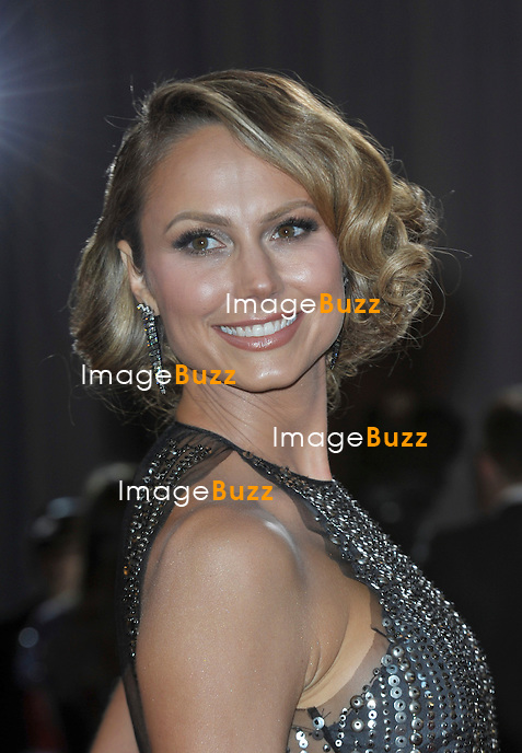 Stacey Keibler arriving for the 85th Academy Awards at the Dolby Theatre, Los Angeles.