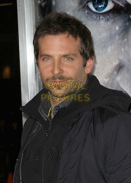 "Bradley Cooper.The World Premiere Of ""The Grey"" Held At The Regal cinemas, Los Angeles, California, USA..January 11th, 2012.headshot portrait black stubble facial hair.CAP/ADM/KB.©Kevan Brooks/AdMedia/Capital Pictures."