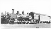 K-27 #460 in Alamosa yard.<br /> D&amp;RGW  Alamosa, CO  Taken by Perry, Otto C. - 9/1/1930