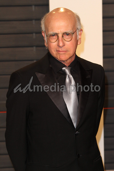 28 February 2016 - Beverly Hills, California - Larry David. 2016 Vanity Fair Oscar Party hosted by Graydon Carter following the 88th Academy Awards held at the Wallis Annenberg Center for the Performing Arts. Photo Credit: AdMedia