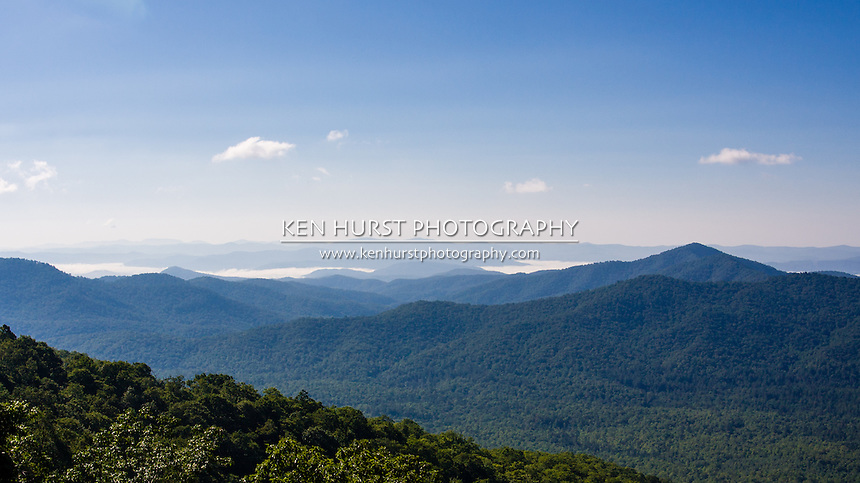Blue Ridge Parkway, southwest of Asheville, NC