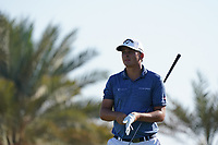 Christiaan Bezuisenhout (RSA) on the 9th during Round 1 of the Abu Dhabi HSBC Championship 2020 at the Abu Dhabi Golf Club, Abu Dhabi, United Arab Emirates. 16/01/2020<br /> Picture: Golffile | Thos Caffrey<br /> <br /> <br /> All photo usage must carry mandatory copyright credit (© Golffile | Thos Caffrey