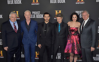 "03 January 2019 - Los Angeles, California - Michael Harney, Neal McDonough, Aidan Gillen, Laura Mennell, Robert Zemeckis. ""Project Blue Book"" History Scripted Series Los Angeles Premiere held at Simon House. Photo Credit: AdMedia"