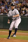 June 4, 2004:  Pitcher Scott Proctor of the Columbus Clippers, International League (AAA) affiliate of the New York Yankees, during a game at Dunn Tire Park in Buffalo, NY.  Photo by:  Mike Janes/Four Seam Images