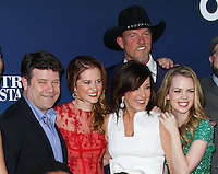 "HOLLYWOOD, LOS ANGELES, CA, USA - APRIL 29: Sean Astin, Sarah Drew, Patricia Heaton, Trace Adkins, Abbie Cobb at the Los Angeles Premiere Of TriStar Pictures' ""Mom's Night Out"" held at the TCL Chinese Theatre IMAX on April 29, 2014 in Hollywood, Los Angeles, California, United States. (Photo by Xavier Collin/Celebrity Monitor)"