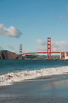 Baker Beach, Golden Gate Bridge, San Francisco, California, USA.  Photo copyright Lee Foster.  Photo # california108635