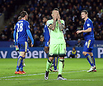 Manchester City's Nicolas Otamendi looks on dejected after a missed chance<br /> <br /> Barclays Premier League- Leicester City vs Manchester City - King Power Stadium - England - 29th December 2015 - Picture - David Klein/Sportimage