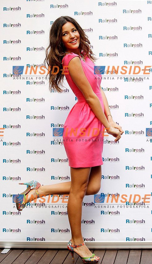 Malena Costa attends a photocall for Refresh spring-summer trends held at the Hospes Hotel on April 19, 2013 in Madrid, Spain(ALTERPHOTOS/Alconada) .Foto Insidefoto ITALY ONLY