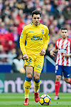 Joaquin Navarro Jimenez, Ximo, of UD Las Palmas in action during the La Liga 2017-18 match between Atletico de Madrid and UD Las Palmas at Wanda Metropolitano on January 28 2018 in Madrid, Spain. Photo by Diego Souto / Power Sport Images