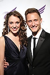Laura Osnes & husband Nathan Johnson attends the American Theatre Wing's annual gala at the Plaza Hotel on Monday Sept. 24, 2012 in New York.