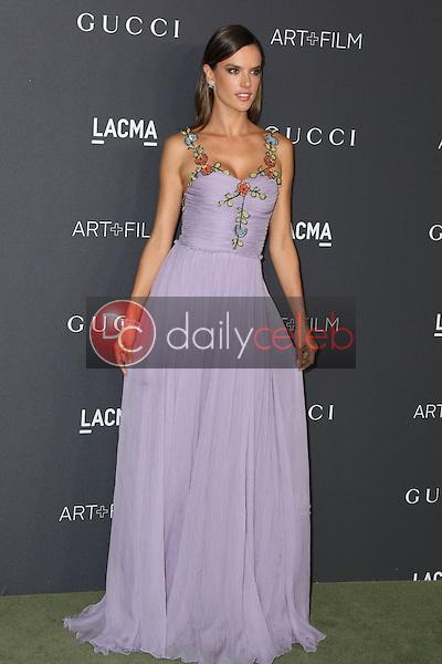 Alessandra Ambrosio<br /> at the 2016 LACMA Art +  Film Gala, LACMA, Los Angeles, CA 10-29-16<br /> David Edwards/DailyCeleb.com 818-249-4998