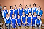 The Sco?r na nO?g group from Renard who competed in the Sout Kerry final in Waterville on Friday night were front l-r; Killian O'Donovan, Niamh Casey, Casey O'Donoghue, Karinee O'Neill, Katie Pierce O'Shea, Orla O'Donovan, Padraig Casey, back l-r; Cathal O'Donovan, Dararca O'Donoghue, Rebecca Galvin, Leanne Curran, Brian Sugrue, Sean Moran, Mark Sugrue, Sophie O'Sullivan.