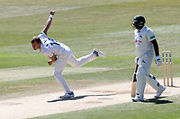 Neil Wagner in bowling action for Essex during Essex CCC vs Nottinghamshire CCC, Specsavers County Championship Division 1 Cricket at The Cloudfm County Ground on 22nd June 2018