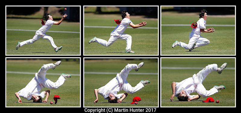 Men's Under 17 Cricket Tournament Canterbury U17 vs. Otago U17 at Bert Sutcliffe Oval in Lincoln, New Zealand on Friday, 13 January 2017. Photo: Martin Hunter / lintottphoto.co.nz