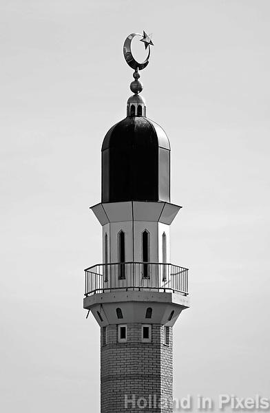 Nederland Amsterdam - 2018. De Taibah Jama Masjid Moskee in de Bijlmer. Foto Berlinda van Dam / Hollandse Hoogte