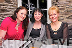 Maura, Rita and Fionnula Hand (from Dingle) enjoying Nollaig na mBan at Doyles Restaurant in Dingle on Monday night.