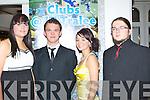 AWARDS: Attending the 2012 ITT TYralee awards night in the Earl of..Desmond Hotel, Tralee on Thursday night l-r: Alison Barden, Brennan..Duff, Emma Fitzgerald and Mark Shiels.