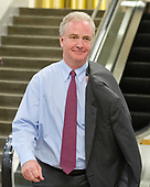 "United States Senator Chris Van Hollen (Democrat of Maryland) on the escalator to go into the Senate Subway after the vote on the repeal of the Affordable Care Act (ACA) also known as ""Obamacare"" in the US Capitol in Washington, DC on Wednesday, July 26, 2017.  The Senate voted 55-45 to reject legislation undoing major portions of President Barack Obama's signature healthcare law without a plan to replace it.<br /> Credit: Ron Sachs / CNP"
