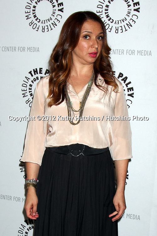 """LOS ANGELES - MAY 8:  Maya Rudolph arrives at the """"Up All Night"""" Screening and Panel at Paley Center For Media on May 8, 2012 in Beverly Hills, CA"""